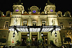 Casino Monte Carlo i Monaco - The Monte Carlo Casino by night