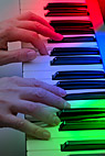 Spillefingre - Hands on piano keys