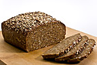 Fuldkornsrugbrød - Rye bread with whole grain