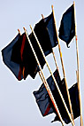Afmærkningsflag - Position flags for coast fishing