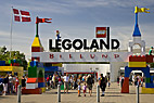 Indgangen til Legoland - The gate at Legoland park
