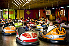 Radiobiler på Bakken - Driving bumper cars in Bakken amusement park