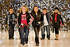 Modeopvisning i København - Dancing children on the catwalk at Copenhagen International Fashion Fair