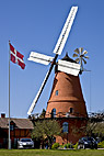 Åstrup møllen - Historic Windmill in dutch style at Aastrup, Faaborg