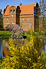 Hesselagergård - The Hesselagergaard manor house at Hesselager