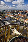 Udsigt over København fra Vor Frelsers kirketårn - View of Copenhagen from the top of Our Saviours Church