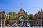 Hovedindgangen til Tivoli - The main entrance to Tivoli garden Copenhagen