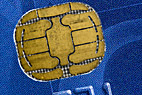 Chip på betalingskort - Computer chip on a credit card