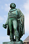 Statue af Kleber - Statue of Jean Baptiste Kleber, a French general during the French Revolutionary Wars