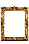 Billedramme - Gilded picture frame, vertical