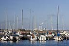 Kastrup havn - Sailboats and yachts in Kastrup harbor Denmark