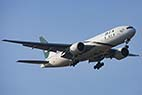 Flyvemaskine under indflyvning til CPH - Pakistan International Airline Airliner - PIA